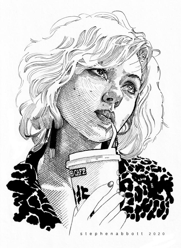 Scarlett Johansson by Stefanosart